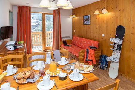 Rent in ski resort Résidence le Blanchot - Pralognan-la-Vanoise - Dining area