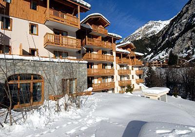 Location au ski Residence Le Blanchot - Pralognan-la-Vanoise - Extérieur hiver