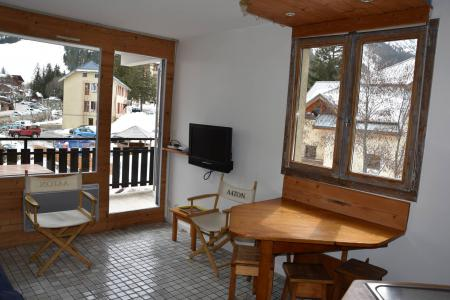 Rent in ski resort 2 room apartment 4 people (15A) - Résidence le Chasseforêt - Pralognan-la-Vanoise - Living room
