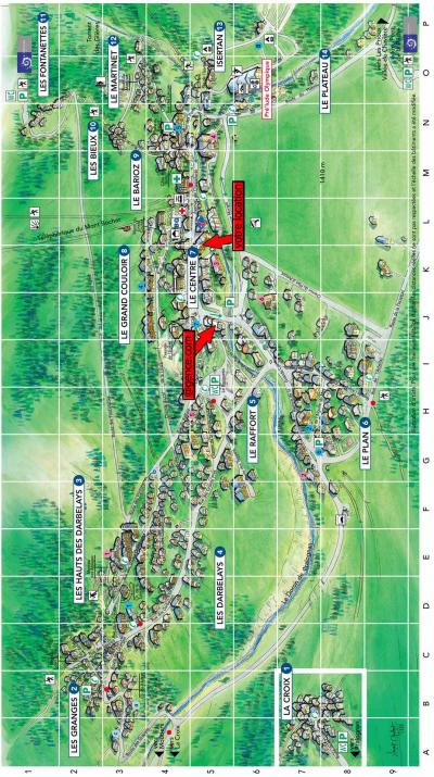 Rent in ski resort Résidence le Chasseforêt - Pralognan-la-Vanoise - Plan