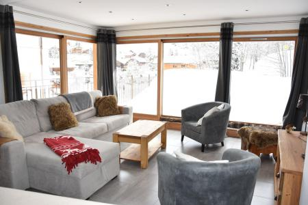 Rent in ski resort 4 room apartment 6 people (24) - Résidence le Grand Chalet - Pralognan-la-Vanoise - Living room