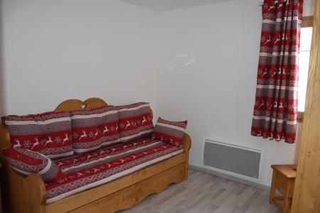 Rent in ski resort 4 room apartment 8 people (15) - Résidence le Grand Chalet - Pralognan-la-Vanoise - Pull-out sofa