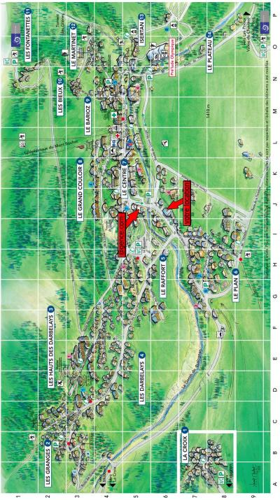 Rent in ski resort Résidence le Grand Chalet - Pralognan-la-Vanoise - Plan