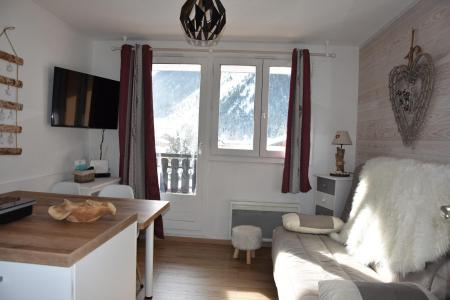 Rent in ski resort Studio sleeping corner 4 people (20) - Résidence le Grand Sud - Pralognan-la-Vanoise - Living room