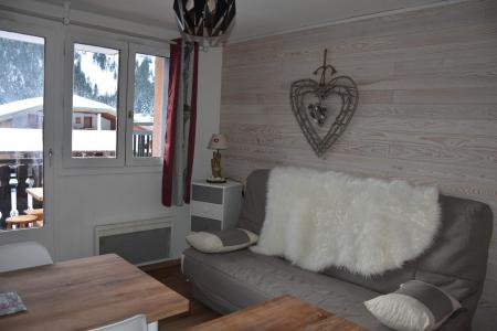 Rent in ski resort Studio sleeping corner 4 people (20) - Résidence le Grand Sud - Pralognan-la-Vanoise - Sofa bed