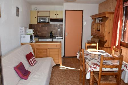 Rent in ski resort Studio sleeping corner 4 people (29 - A ETE VENDU NE SAVENT PAS SI CE SERA EN LOCATION) - Résidence le Grand Sud - Pralognan-la-Vanoise - Living room