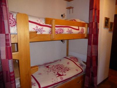 Rent in ski resort 2 room apartment 4 people (8) - Résidence le Plan d'Amont - Pralognan-la-Vanoise - Bunk beds