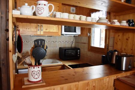 Rent in ski resort 2 room apartment 4 people (8) - Résidence le Plan d'Amont - Pralognan-la-Vanoise - Kitchen