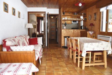 Rent in ski resort 2 room apartment 4 people (8) - Résidence le Plan d'Amont - Pralognan-la-Vanoise - Living room