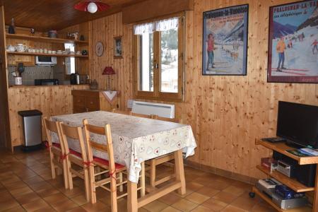 Rent in ski resort 2 room apartment 4 people (8) - Résidence le Plan d'Amont - Pralognan-la-Vanoise - Open-plan kitchen