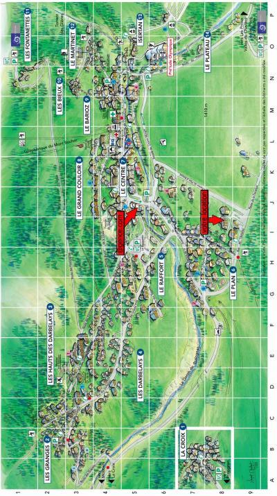 Rent in ski resort Résidence le Plan d'Amont - Pralognan-la-Vanoise - Plan