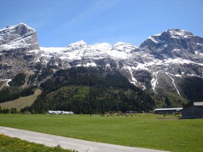 Rent in ski resort 2 room apartment 4 people (8) - Résidence le Plan d'Amont - Pralognan-la-Vanoise