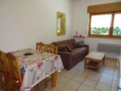 Rent in ski resort 2 room apartment 4 people (SAISONB) - Résidence les 4 Saisons - Pralognan-la-Vanoise - Table