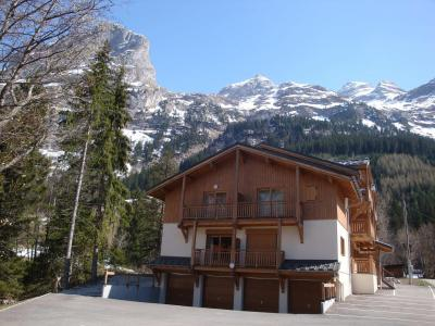 Rent in ski resort Résidence les 4 Saisons - Pralognan-la-Vanoise - Winter outside