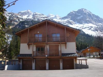 Rent in ski resort Studio 2 people (A) - Résidence les 4 Saisons - Pralognan-la-Vanoise - Winter outside