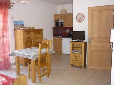 Rent in ski resort Studio 2 people (A) - Résidence les 4 Saisons - Pralognan-la-Vanoise - Apartment