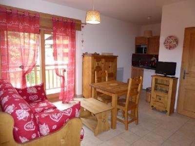 Rent in ski resort Studio 2 people (A) - Résidence les 4 Saisons - Pralognan-la-Vanoise - Living room