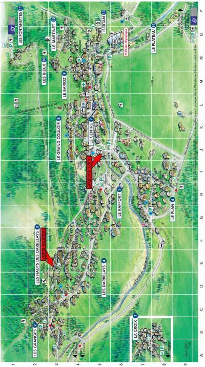 Rent in ski resort Résidence les Alpages de Pralognan C - Pralognan-la-Vanoise - Plan