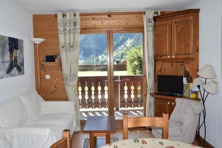 Rent in ski resort Résidence les Alpages de Pralognan C - Pralognan-la-Vanoise - Living room