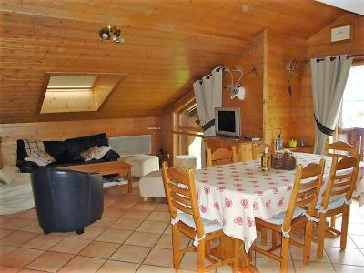 Rent in ski resort 5 room duplex apartment 8 people (17) - Résidence les Alpages de Pralognan D - Pralognan-la-Vanoise - Living room