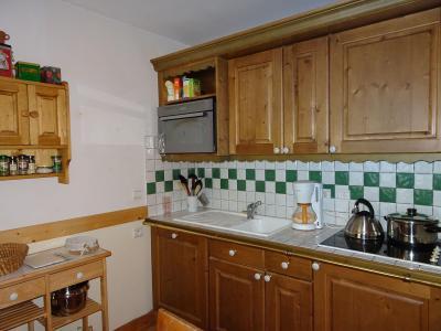 Rent in ski resort 3 room apartment 5 people (6) - Résidence les Alpages de Pralognan F - Pralognan-la-Vanoise - Kitchenette