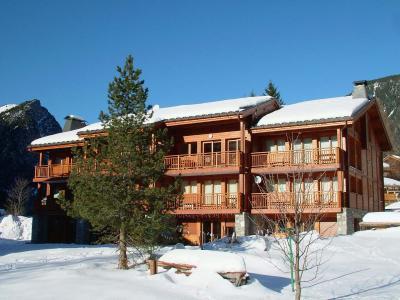 Rent in ski resort Résidence les Chalets de Napremont - Pralognan-la-Vanoise - Winter outside