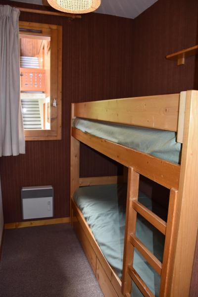 Rent in ski resort 3 room apartment 4 people (B3) - Résidence les Glaciers - Pralognan-la-Vanoise - Bunk beds