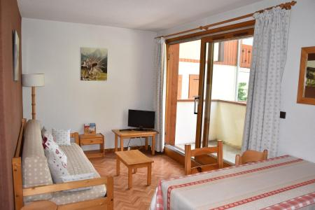 Rent in ski resort 3 room apartment 4 people (B3) - Résidence les Glaciers - Pralognan-la-Vanoise - Living room