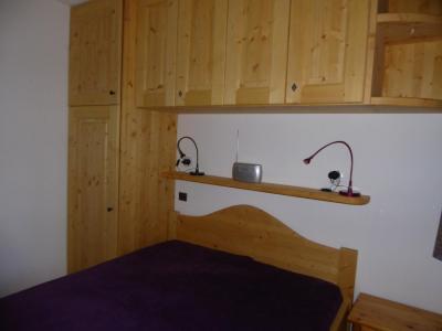 Rent in ski resort 3 room apartment 4 people (C4) - Résidence les Glaciers - Pralognan-la-Vanoise - Double bed
