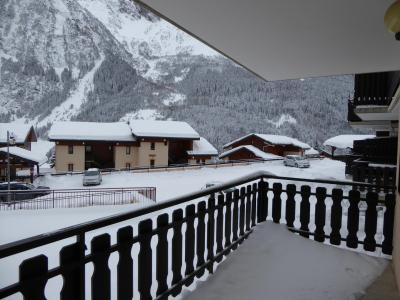 Rent in ski resort 2 room apartment 4 people (5C) - Résidence les Hameaux de la Vanoise - Pralognan-la-Vanoise - Balcony