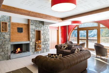 Rent in ski resort Résidence les Hauts de la Vanoise - Pralognan-la-Vanoise - Fireplace