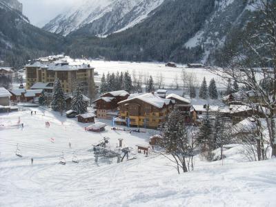 Location au ski Résidence les Jardins de la Vanoise - Pralognan-la-Vanoise - Extérieur hiver
