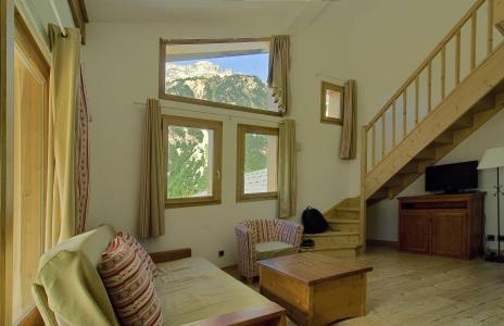 Location au ski Appartement 3 pièces coin montagne 9 personnes (BDQ) - Residence Les Jardins De La Vanoise - Pralognan - Séjour