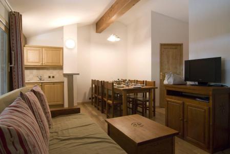 Rent in ski resort Résidence les Jardins de la Vanoise - Pralognan-la-Vanoise - Living room