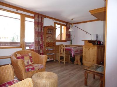 Rent in ski resort 2 room apartment 4 people (23) - Résidence les Mélèzes - Pralognan-la-Vanoise - Living room