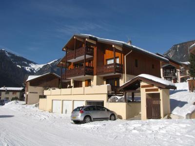 Rent in ski resort Résidence les Murgers - Pralognan-la-Vanoise - Winter outside