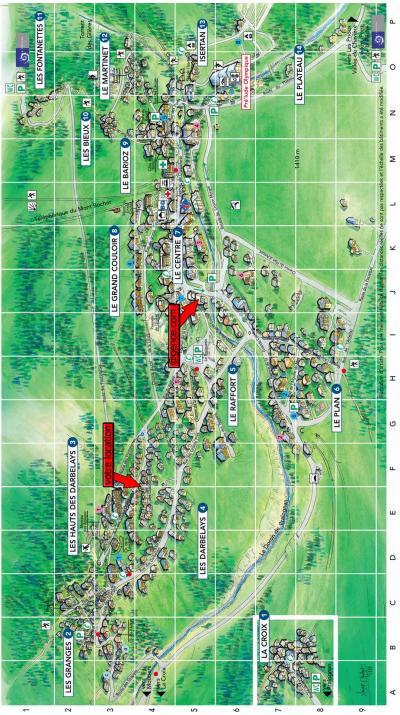 Rent in ski resort Résidence les Murgers - Pralognan-la-Vanoise - Plan