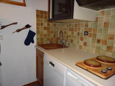 Rent in ski resort 2 room apartment 4 people (BA1) - Résidence les Pariettes - Pralognan-la-Vanoise - Kitchenette