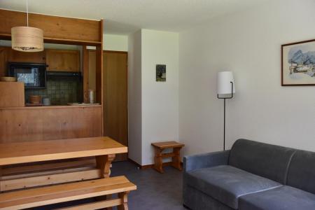 Rent in ski resort 2 room apartment 4 people (BA1) - Résidence les Pariettes - Pralognan-la-Vanoise - Living room