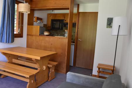 Rent in ski resort 2 room apartment 4 people (BA1) - Résidence les Pariettes - Pralognan-la-Vanoise - Table