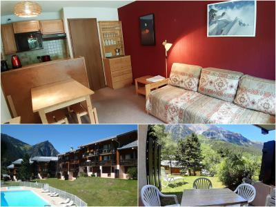 Rent in ski resort 2 room apartment 4 people (CA4) - Résidence les Pariettes - Pralognan-la-Vanoise - Bath-tub
