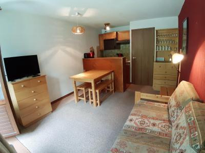 Rent in ski resort 2 room apartment 4 people (CA4) - Résidence les Pariettes - Pralognan-la-Vanoise - Bunk beds