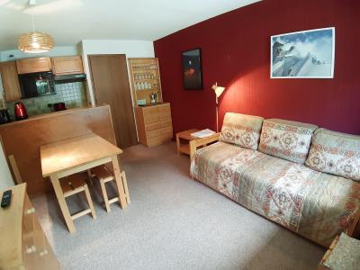 Rent in ski resort 2 room apartment 4 people (CA4) - Résidence les Pariettes - Pralognan-la-Vanoise - Dining area