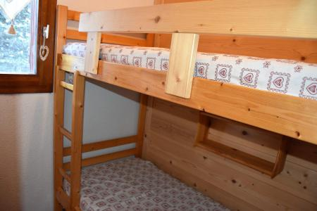 Rent in ski resort 2 room apartment 4 people (CA5) - Résidence les Pariettes - Pralognan-la-Vanoise - Bunk beds