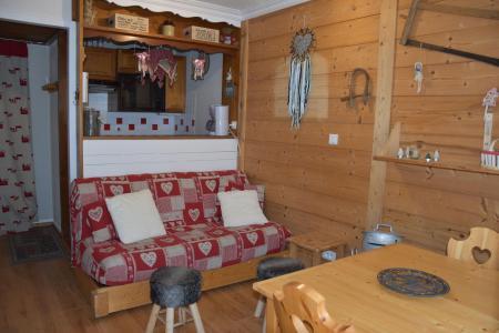 Rent in ski resort 2 room apartment 4 people (CA5) - Résidence les Pariettes - Pralognan-la-Vanoise - Living room