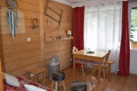 Rent in ski resort 2 room apartment 4 people (CA5) - Résidence les Pariettes - Pralognan-la-Vanoise - Table