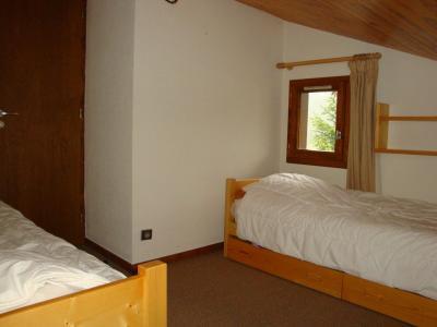 Rent in ski resort 3 room duplex apartment 6 people (AB1) - Résidence les Pariettes - Pralognan-la-Vanoise - Single bed