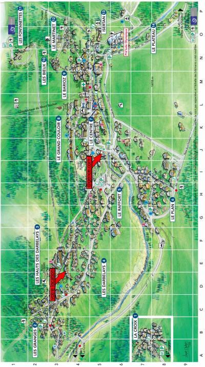 Rent in ski resort Résidence les Pariettes - Pralognan-la-Vanoise - Plan