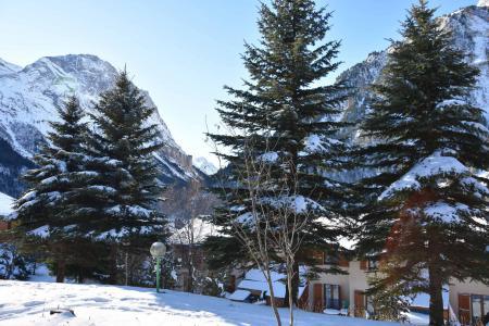 Rent in ski resort 2 room apartment 4 people (CA5) - Résidence les Pariettes - Pralognan-la-Vanoise - Winter outside