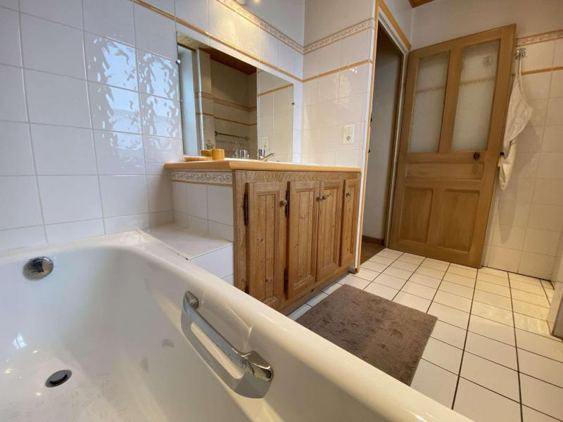 Аренда на лыжном курорте Апартаменты 5 комнат с мезонином 8 чел. (002) - Chalet le Pré Joli - Praz sur Arly - Ванна